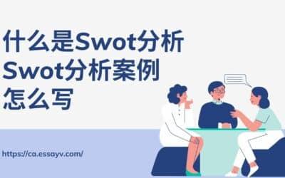 什么是Swot分析, EssayV解析Swot分析案例怎么写.